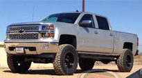 Trophy - D551 on Chevrolet Silverado 1500 HD