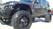 Driller - D256 on Jeep Wrangler