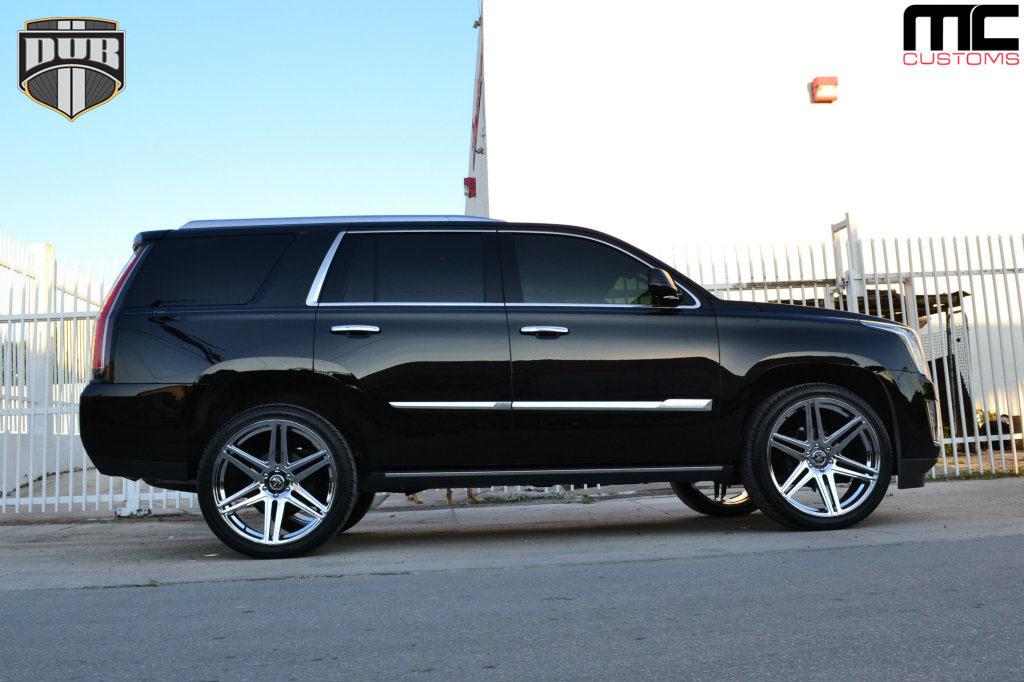Cadillac Escalade Skillz - S122 Gallery - MHT Wheels Inc.