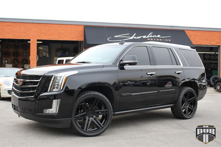 Cadillac Escalade Skillz - S123 Gallery - MHT Wheels Inc.