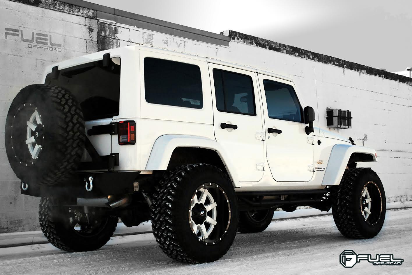 Jeep Wrangler Maverick - D261 Gallery - MHT Wheels Inc.