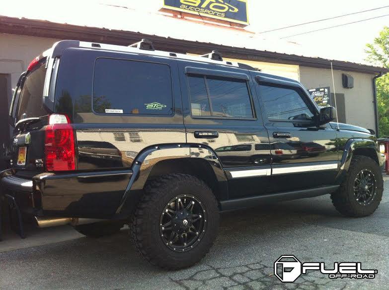 Matte Black Jeep Commander >> Jeep Commander Hostage - D531 Gallery - MHT Wheels Inc.