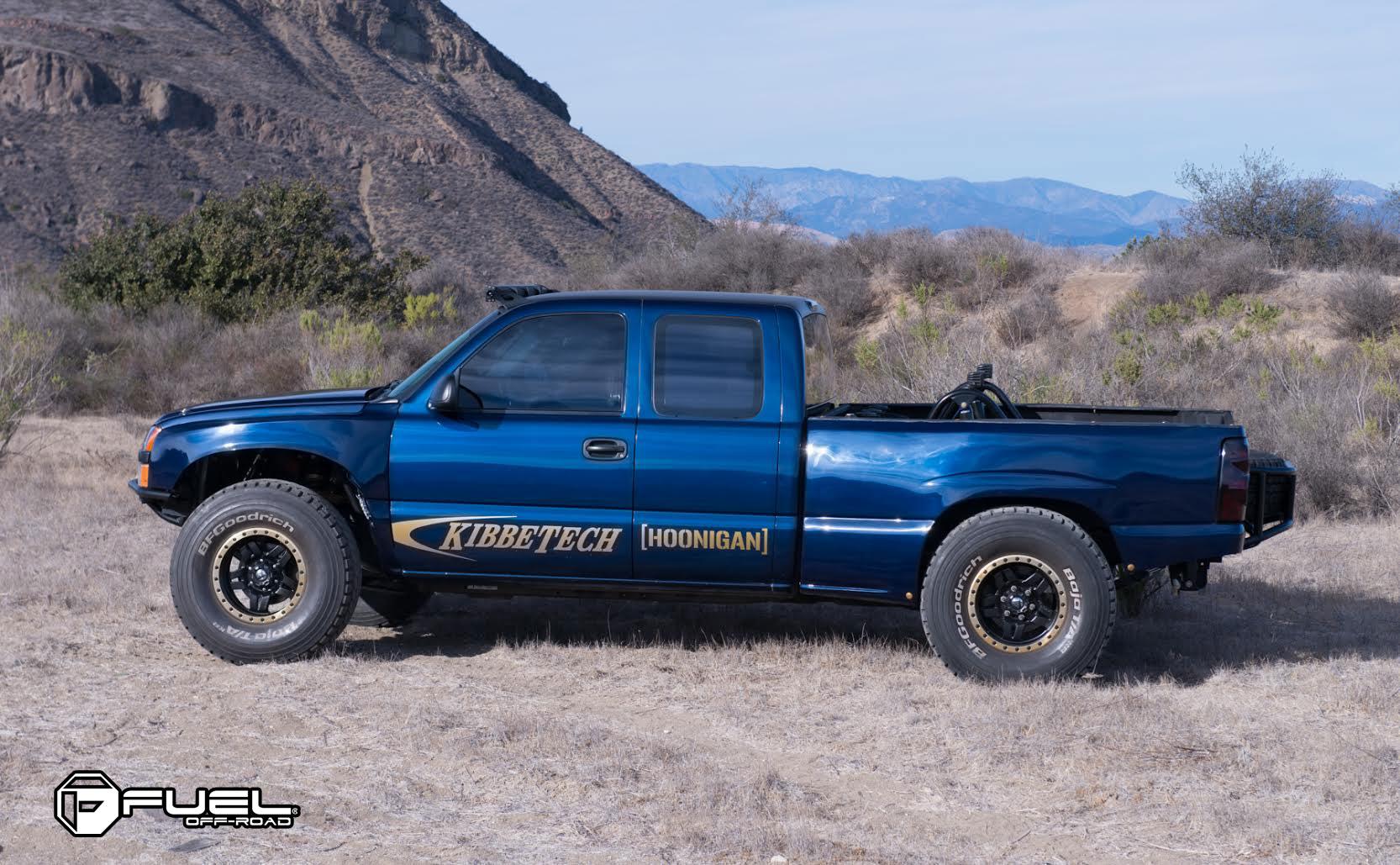 Chevrolet Silverado 1500 Anza - D558 Gallery - MHT Wheels Inc.