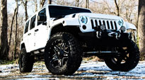 Full Blown - D554 on Jeep Wrangler