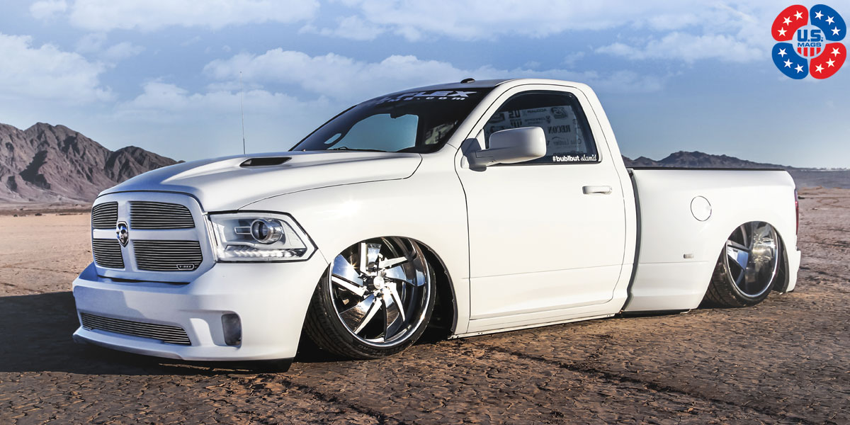 Dodge Ram 1500 Phantom U567 Concave Gallery Mht Wheels