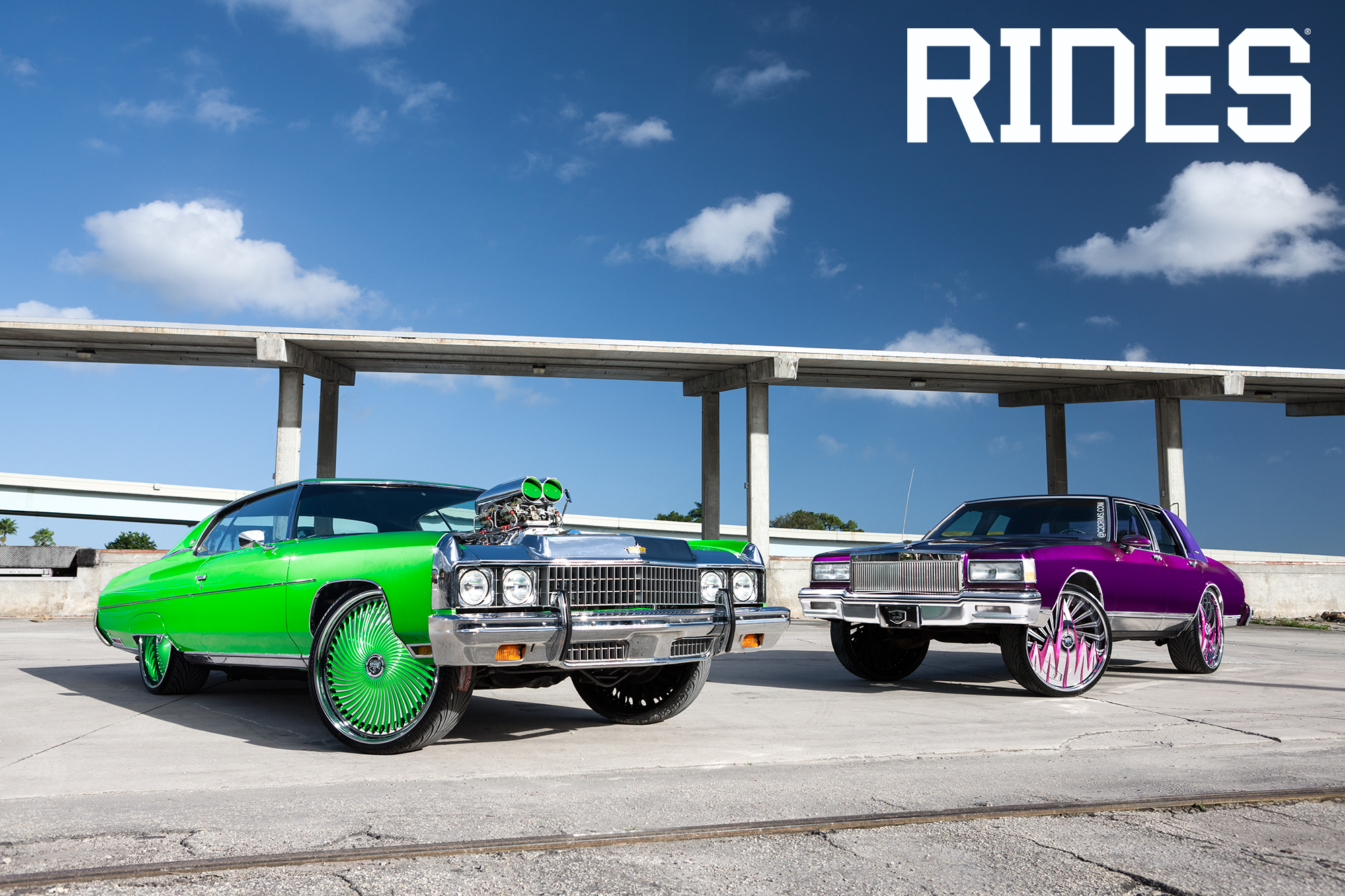 Staggered DUB Wheels | RIDES Feature