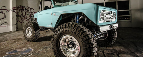 Monster Garage Bronco | Fuel D116 Anza Beadlock