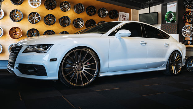 Audi S7 | Form M158 | 22x10.5 Squared