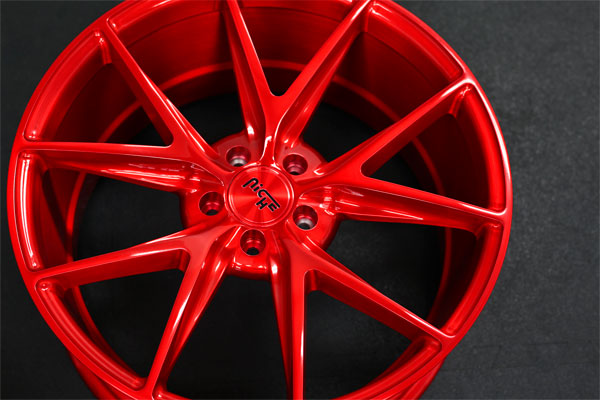 Misano M117 | Brushed Gloss Candy Red