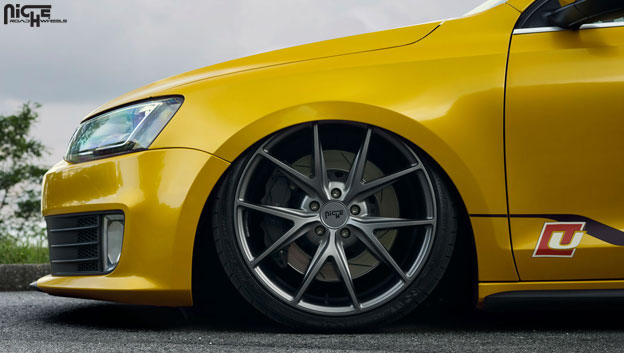 Niche Misano M116 | VW MK6 GLI | Elite Roads