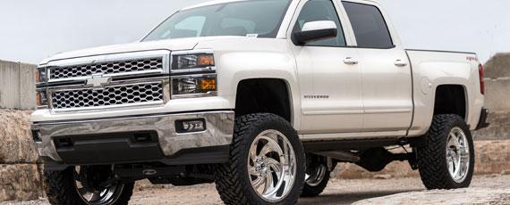 Fuel Forged FF10 | 2015 Silverado