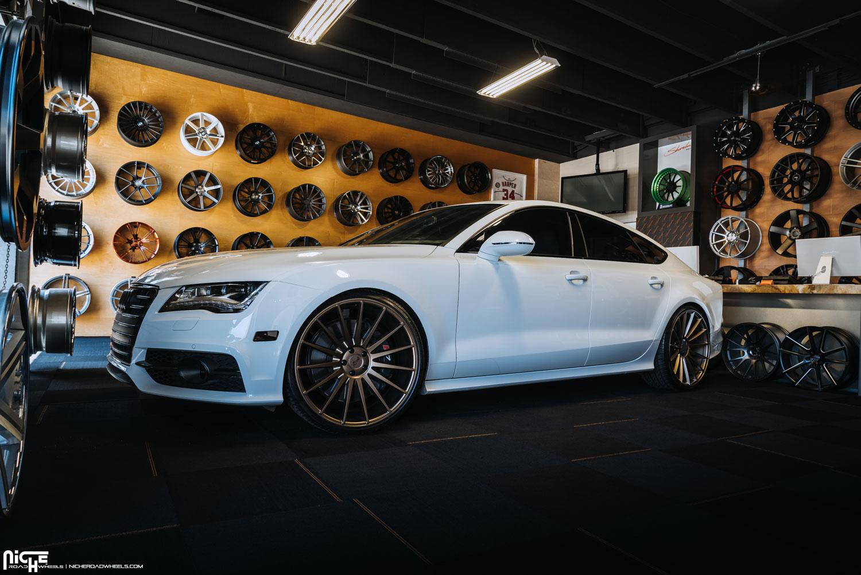Audi S7 Form M158 22x10 5 Squared Mht Wheels Inc