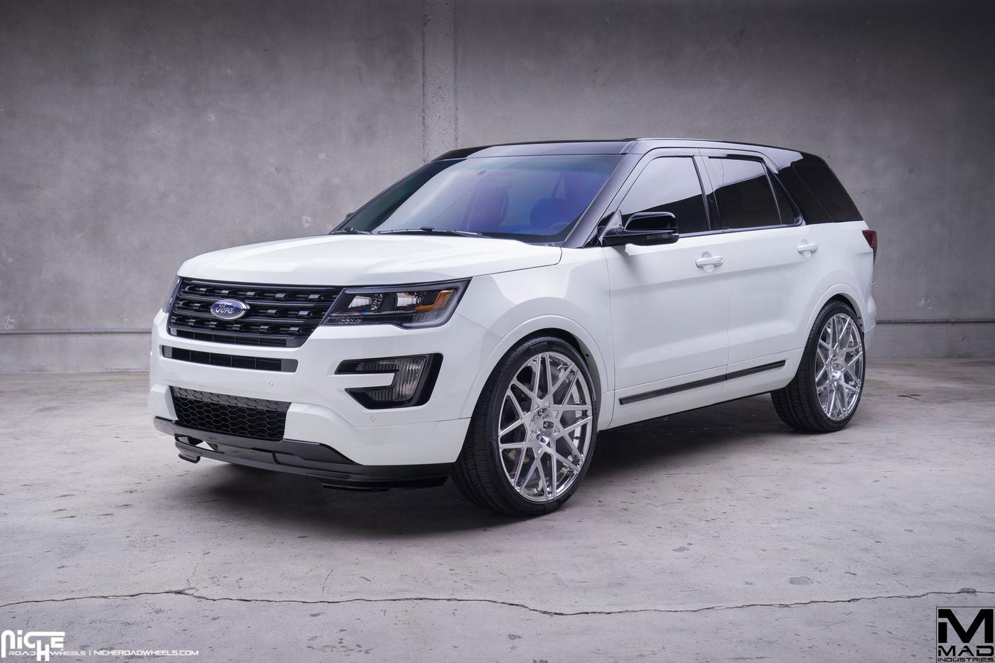 2016 ford explorer mad industries niche alpine mht wheels inc