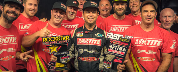 Podium Finish for Jeremy McGrath and Fuel Offroad