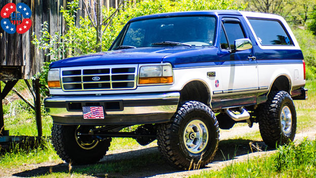 James Duff '96 Bronco | 15x10 Indy Mags