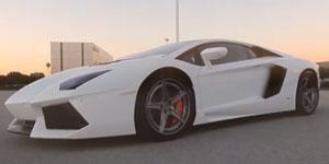 Lamborghini Aventador featuring H410 Apex