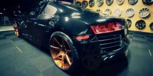 Niche Scuderia 7's on the new Audi R8