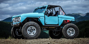Monster Garage Bronco | Fuel Anza D116