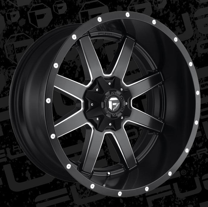 Fuel Wheels 20x9 >> Maverick - D538 - MHT Wheels Inc.