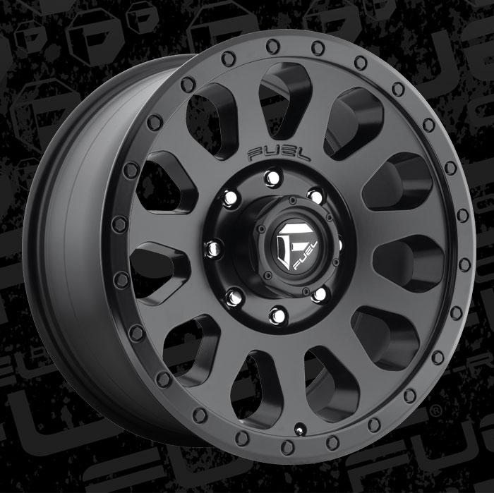 Fuel Wheels 20x9 >> Vector - D579 - MHT Wheels Inc.