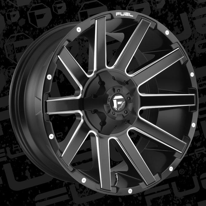 Fuel Wheels 20x9 >> Contra - D616 - MHT Wheels Inc.