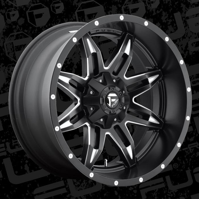 Fuel Wheels 20x9 >> Lethal - D567 - MHT Wheels Inc.