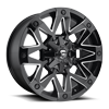 Ambush - D555 Gloss Black & Milled