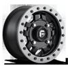 Anza - D917 Beadlock 14x7 ET38 | Matte Black w/ Anthracite Ring
