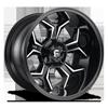 Avenger - D606 Gloss Black & Milled