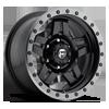 Anza - D557 Matte Black w/ Anthracite Ring