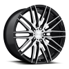 Anzio - M165 Gloss Black & Brushed 22x10.5