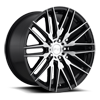 Anzio - M165 Gloss Black & Brushed 20x10.5