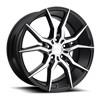 Ascari - M166 Gloss Black/Brushed 19x8.5