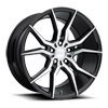 Ascari - M166 Gloss Black & Brushed 19x9.5
