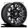 Blitz - D673 Gloss Black & Milled