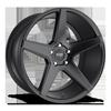Carini - M185 Satin Black 20x10.5