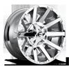 Contra - D614 20x10 | Chrome