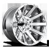 Contra - D614 22x12 -44 | 8 Lug | Chrome