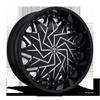 Dazr - S231 Gloss Black & Milled