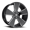 Del Grande - S230 Gloss Black & Milled