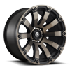Diesel - D636 20x10 -18 | Matte Black/Machined/DDT