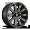 Diesel - D636 20x9 +0 | Matte Black/Machined/DDT