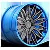 Cavat - XB40 Brushed Double Dark Tint | Hi Polish Pica-Blue