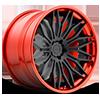 Cavat - XB40 Matte Black | Hi Polish Candy Red