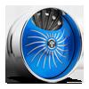 S509-Fantasy Blue & Milled