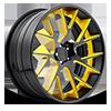 XA90 - Manor Gloss Black w/ Yellow Windows | Gloss Black Lip