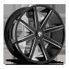 Push - S109 Gloss Black & Milled 26