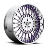 X90-Salante Brushed w/ purple windows, chrome lip