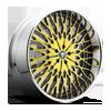 X90-Salante Black & Yellow, chrome lip