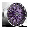 Savant - S714 Purple & Milled